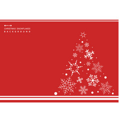 abstract of christmas simple red color background vector image