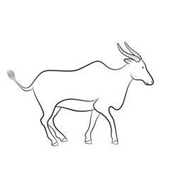 African motives drawing graphic vector