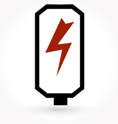 battery charge level indicators icon vector image
