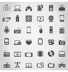 Electronics an icon vector