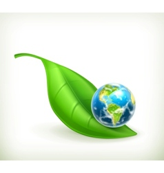 Green World vector image vector image