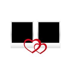 hearts photos vector image