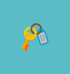 Keys icon flat element of vector