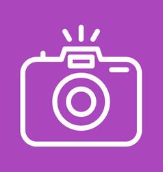 Photograph camera vector