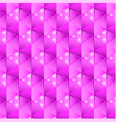Pink pattern background vector