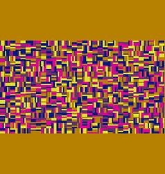 Random colorful chaotic mosaic pattern hd vector