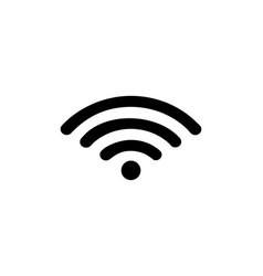 wifi internet logo vector image