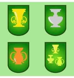 Cup Cartoon vector image