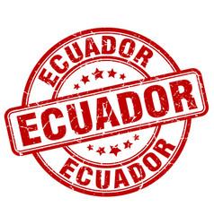 Ecuador stamp vector