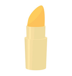 lipstick icon cartoon style vector image