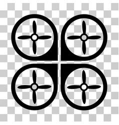 nanocopter icon vector image