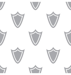 New Shield seamless pattern vector image