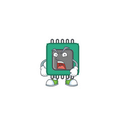 Ram cartoon character design with angry face vector