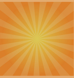 retro orange background radiation stylish vector image