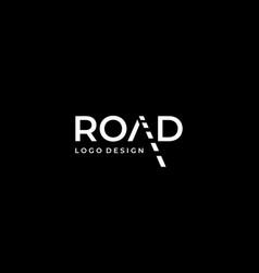 Road logo vector