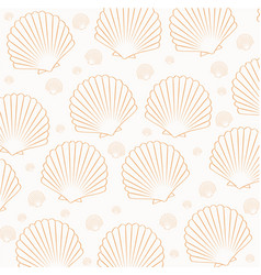 seamless pattern from the shell vector image