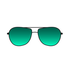 Sunglasses isolated on white background vector