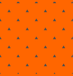 tile pattern with grey triangles on orange backgro vector image