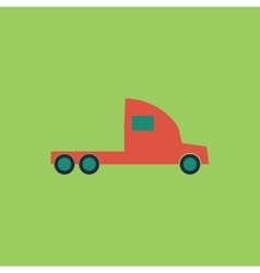 truck without a trailer vector image
