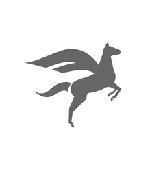 Flying-Horse-380x400 vector image