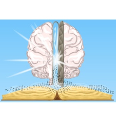 book is a source of knowledge vector image