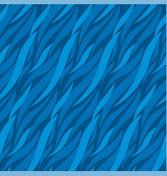 abstract wave blue seamless pattern vector image