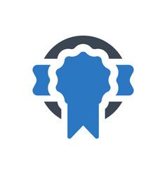 achievement award icon vector image