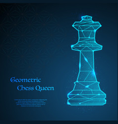 Chess queen background vector