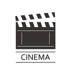 cinema logo vector image