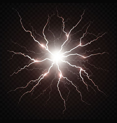 Electric flash lightning vector