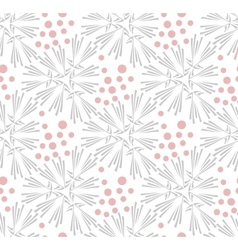 Ornate floral seamless texture endless pattern vector image