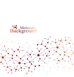 Scientific chemical pattern structure molecule vector
