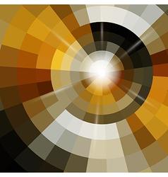 Circle mosaic background vector image