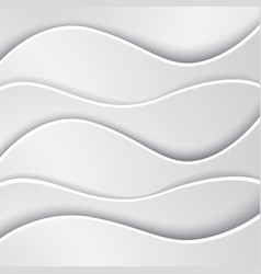 abstract wave background made of paper vector image