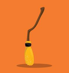 harry potter broom 09 vector image