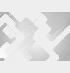 light grey minimal geometric technology background vector image