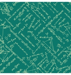 Maths seamless pattern EPS 8 vector image vector image