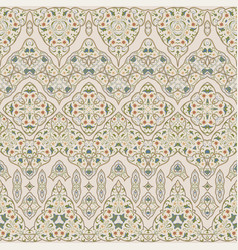 Seamless ethnic patterns for border vector