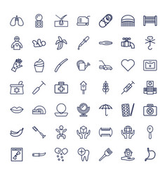 49 care icons vector