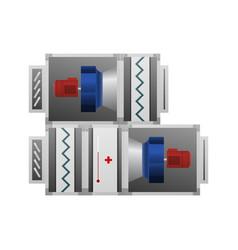 air handling unit vector image