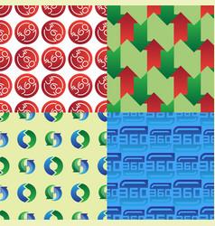angle 360 degrees web shape mark vector image
