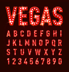 Casino letters vector