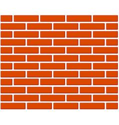 colorful cartoon brick wall vector image