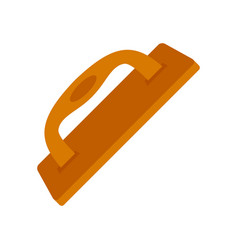 Construct wood tool icon flat style vector