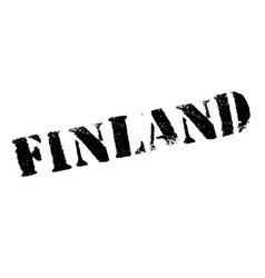 Finland stamp rubber grunge vector
