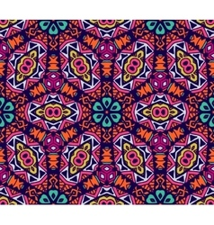 Geometric floral design pattern vector