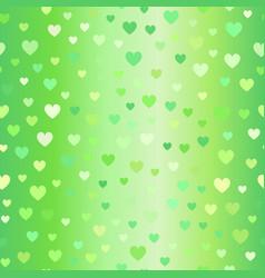Glowing heart pattern seamless vector