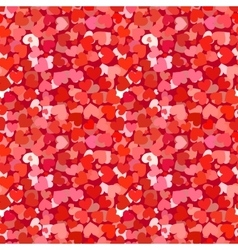 Many red and pink hearts seamless pattern vector