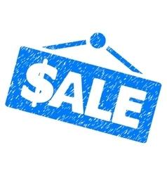 Sale Signboard Grainy Texture Icon vector