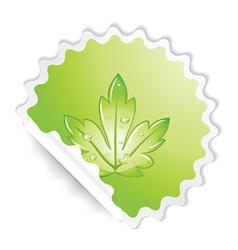 sticker vector image vector image
